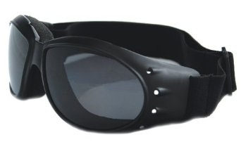 Bobster Cruiser Goggles Blk Frame AntFg Smkd Reflective Lens