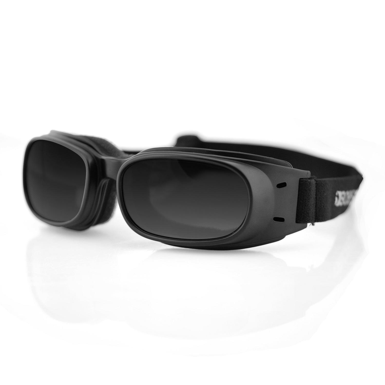 Bobster Piston Goggles, Black Frame, Smoked Lens