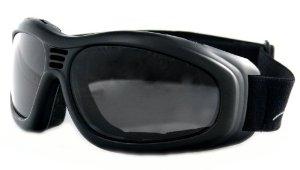 Bobster Touring II Goggle Black Frame AntiFog Smoked Lenses
