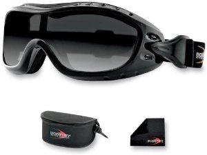 Bobster Night Hawk OTG Goggle Black Frame AntiFog Lens