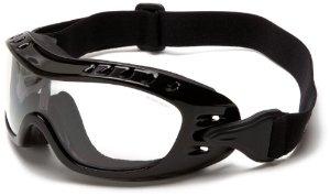 Bobster Night Hawk OTG Goggle Black Frame AntiFog Clear Lens