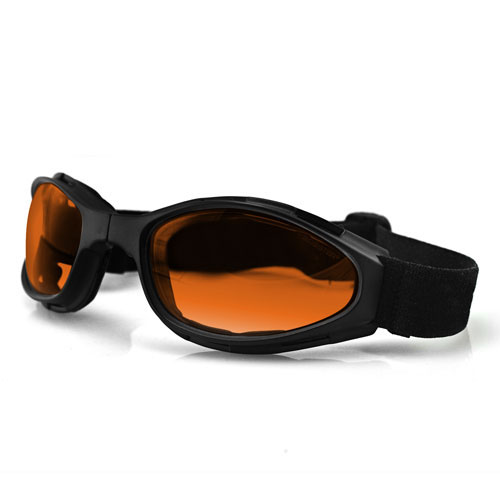 Bobster Crossfire Small Folding Goggles Anti-fog Amber Lens
