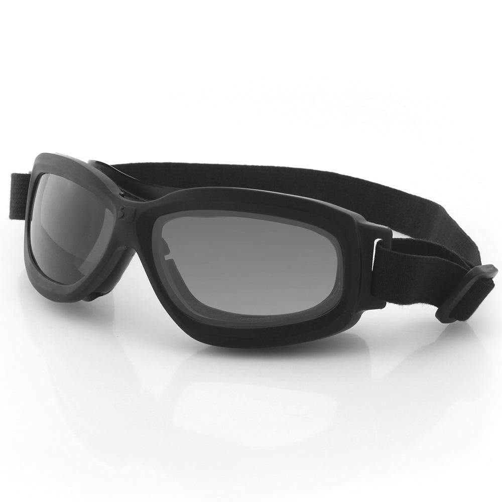 Bobster Bravo 2 Ballistic Goggle-Blk Frame-3 Anti-fog Lenses