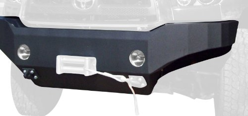 Toyota Tundra Front Winch Bumper in Textured Powder Coat