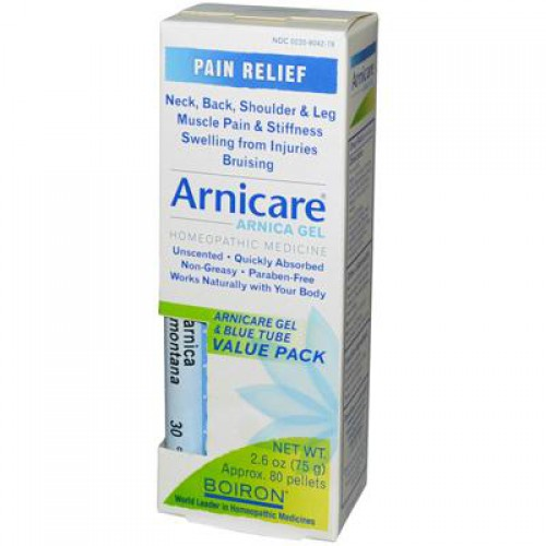 Boiron Arnica Gel & Blue Tube Bonus (1x25 Oz)