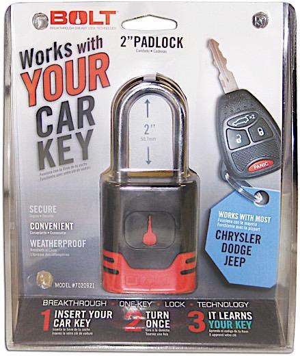 <12> Padlock Dodge/Jeep/Ram
