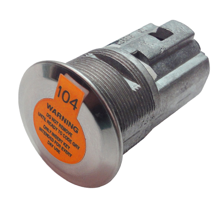 (CLAMSHELL)NISSAN VEHICLES REPLACEMENT LOCK CYLINDER