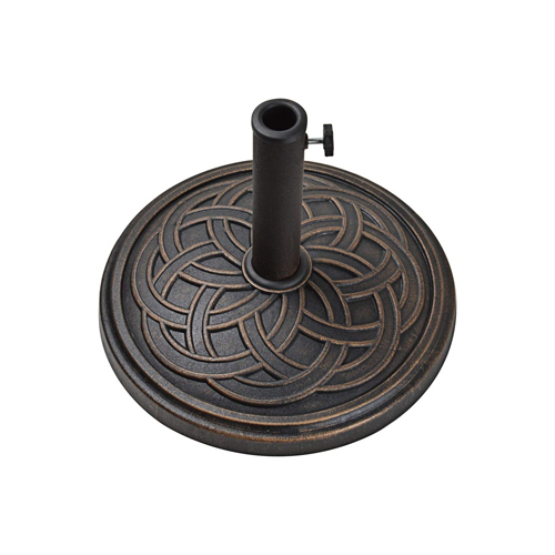 12kg Gaelen umbrella base - ANTIQUE BRONZE