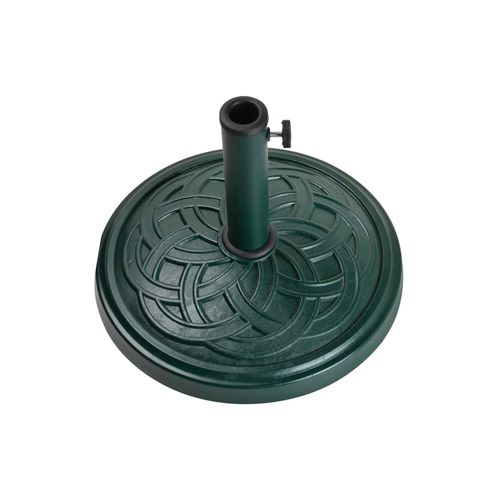 12kg Gaelen umbrella base - GREEN