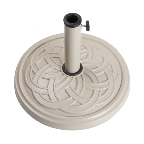12kg Gaelen umbrella base - TAUPE