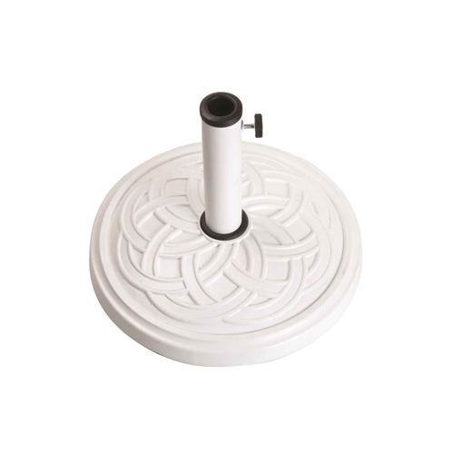 12kg Gaelen umbrella base - white