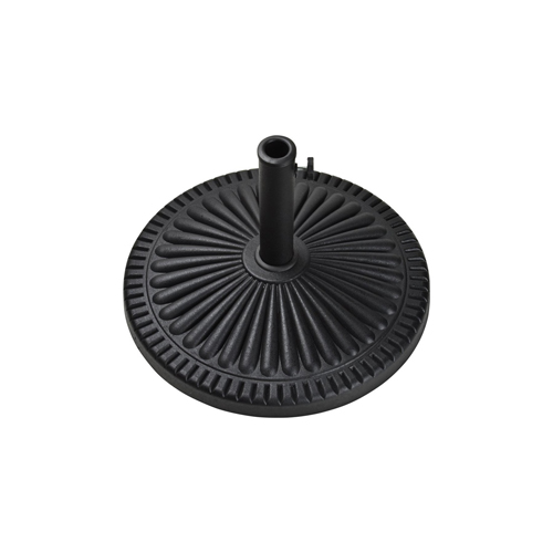 18kg VERANDA UMBRELLA base - BLACK