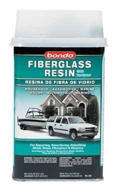 Bondo Polyester Fiberglass Resin Pt. Clear