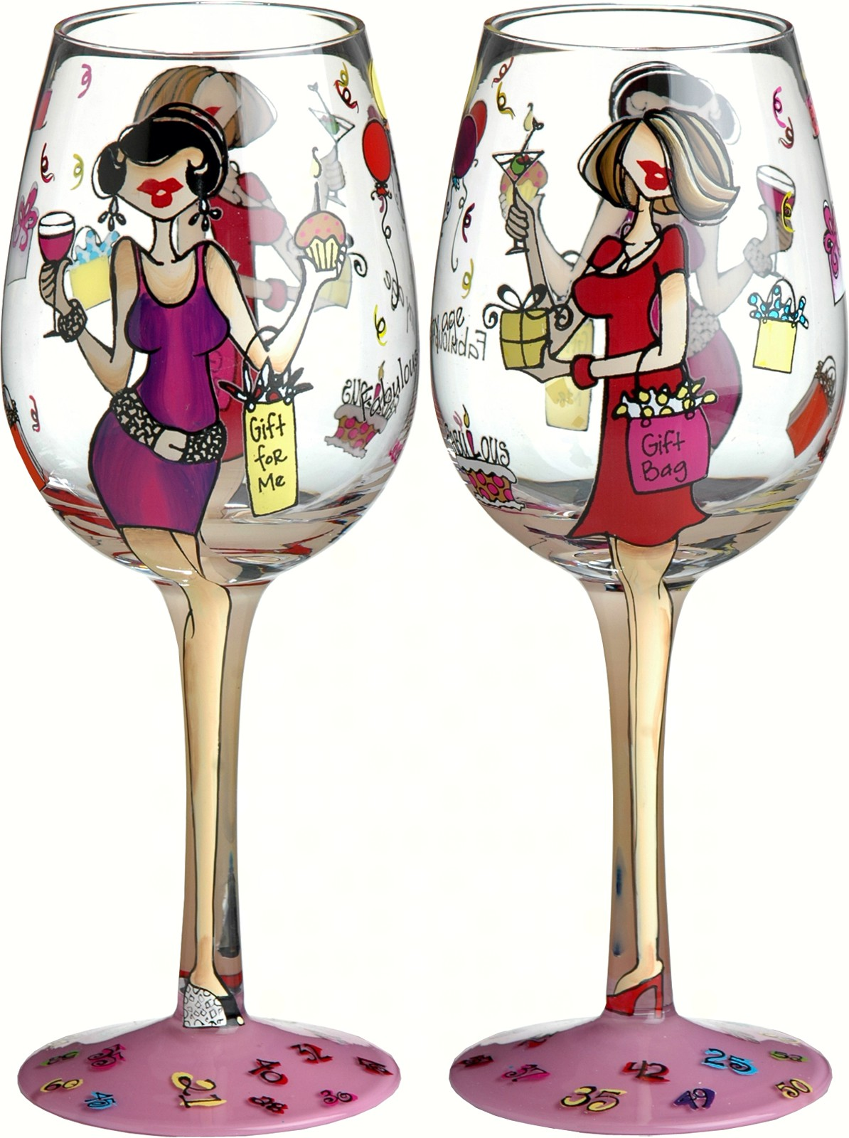 Wine Glass, Fabulous At Any Age