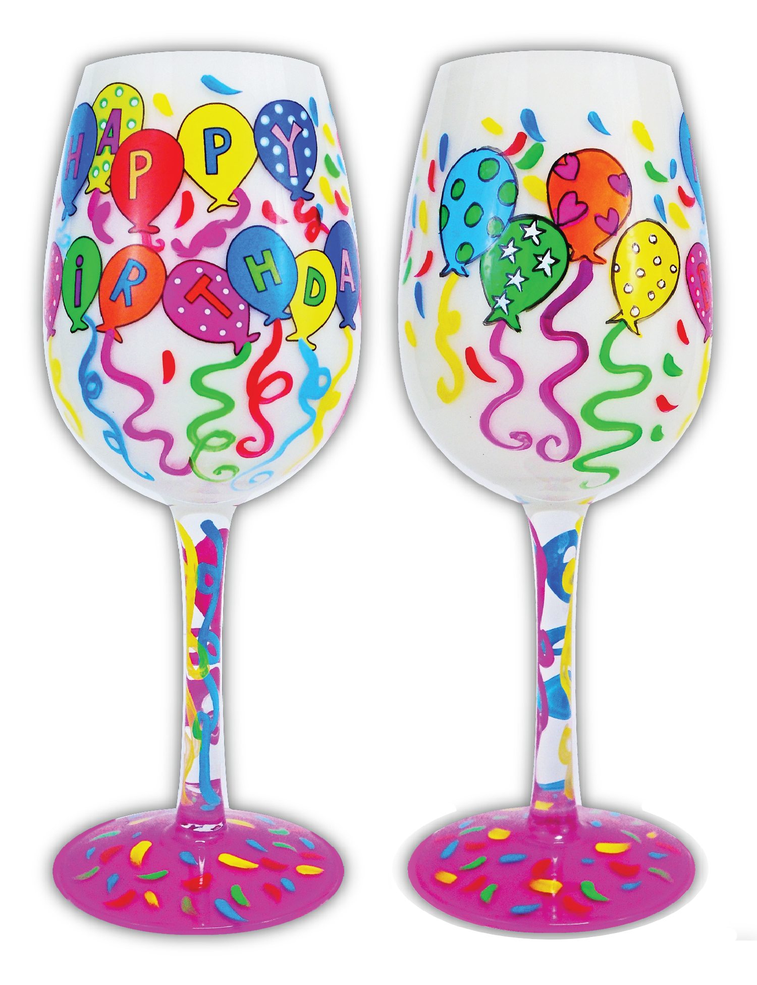 Wine Glass, Happy Birthday to You