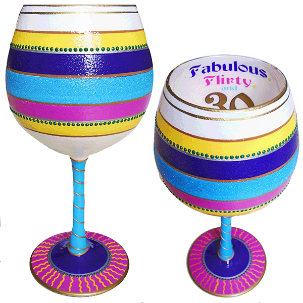 IB Wine Glass Flirty 30
