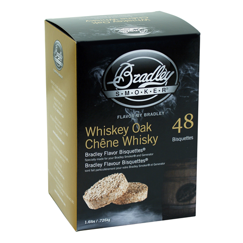 Bradley Whiskey Oak Special Edition Bisquettes 48-pack