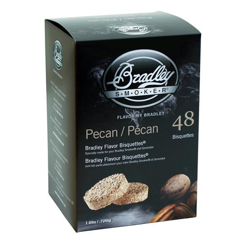 Bradley Pecan Biquettes 48-pack