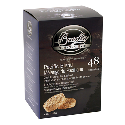 Bradley Pacific Blend Bisquettes 48 Pack