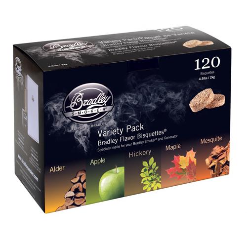 5 Flavor Variety 120 Pack