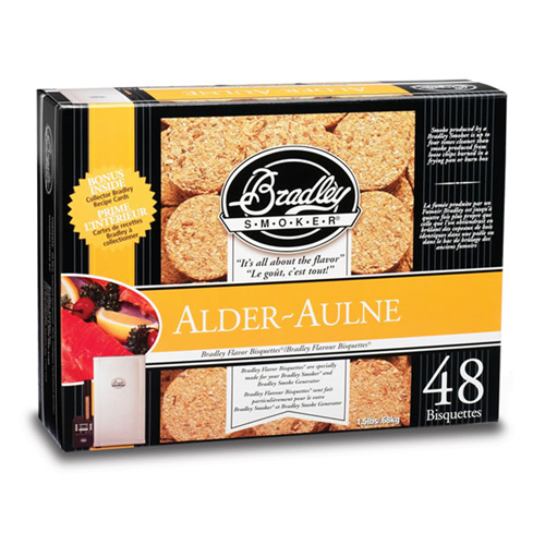 Alder Bisquettes (48 Pack)