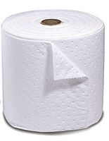 "Sorbent Products Oil Plus+ Sorbent Roll Dimpled & Perforated - 15"" X 150' (1 Per Bag)"