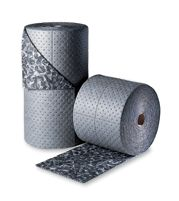 "Sorbent Products 15"" X 150"" BattleMat+ 3-Ply Gray Camouflage Double-Perforated Universal Sorbent Roll"