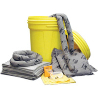 Brady� Allwik� 30 Gallon Lab Pack Absorbent Spill Kit (Contains Pads, Socs, Pillows, Gloves, Bags, Goggles And Handbook)