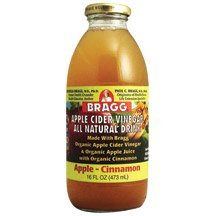 Apple Cider Vinegar Drink - Organic - Apple-Cinnamon ( 12 - 16 FZ )