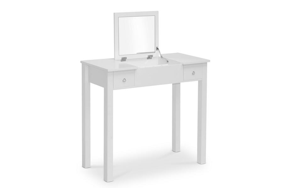 Baxton Studio Wessex White Vanity Table