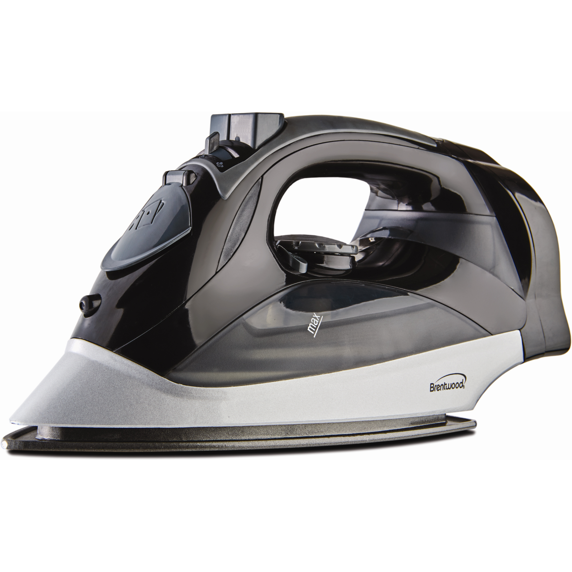 Power Steam Iron Nonstick black