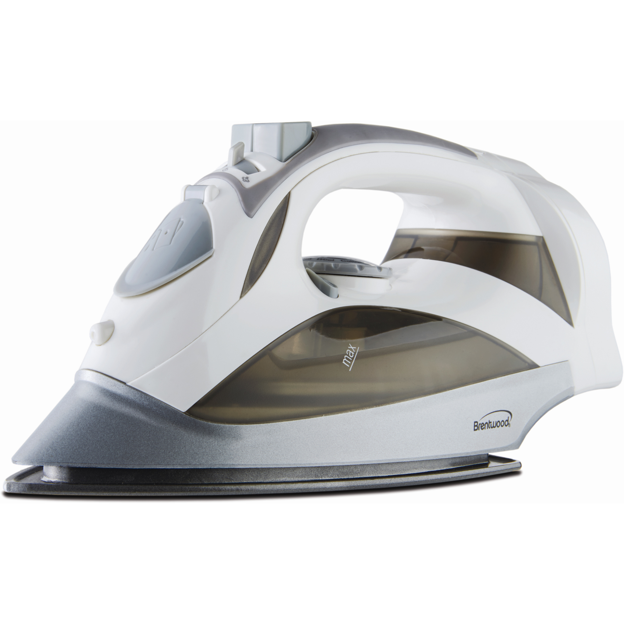 Power Steam Iron Nonstick White