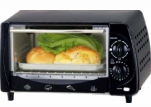 Toaster Oven 4Slice 9L Black