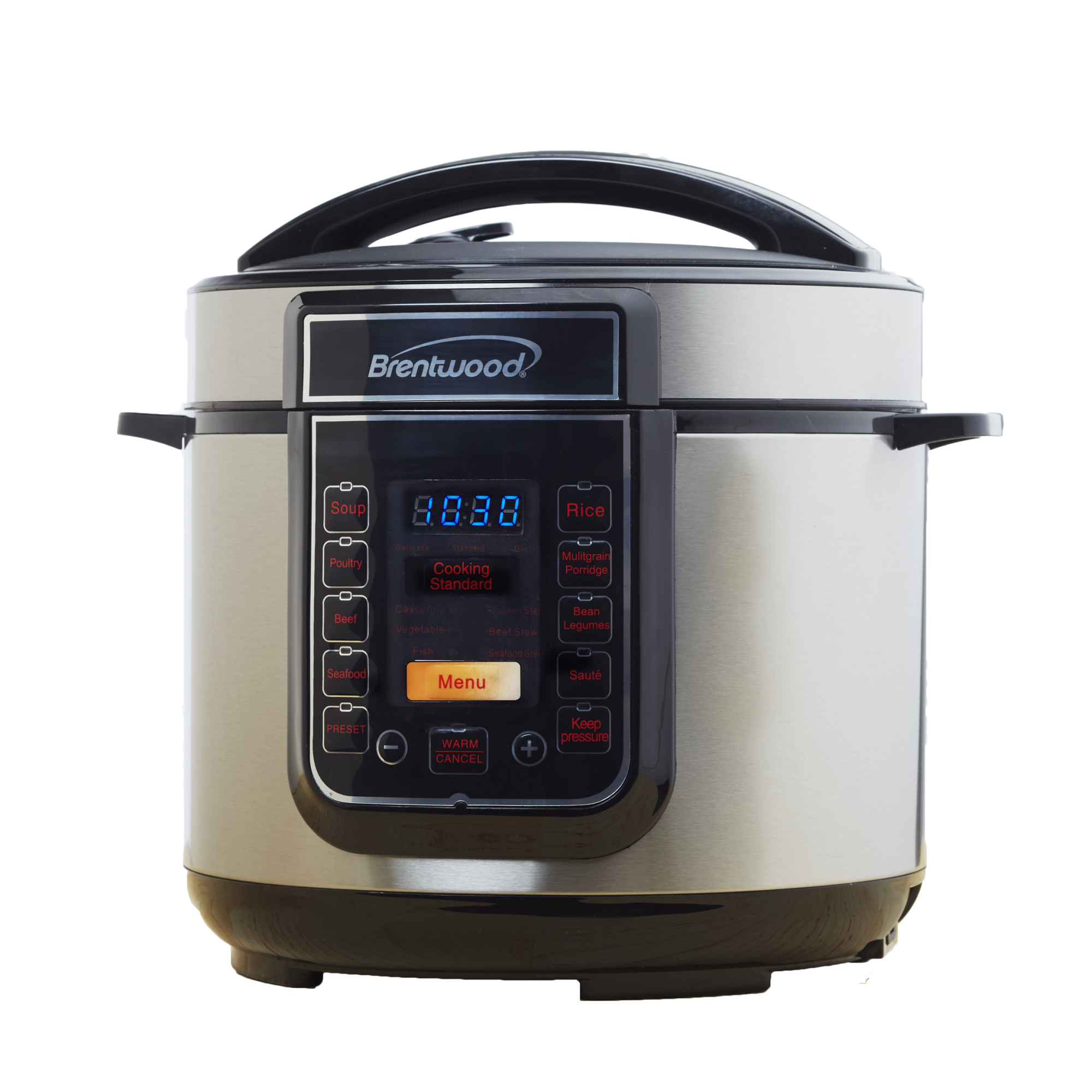 Brentwood 5 Quart Electric Pressure and Slow Cooker