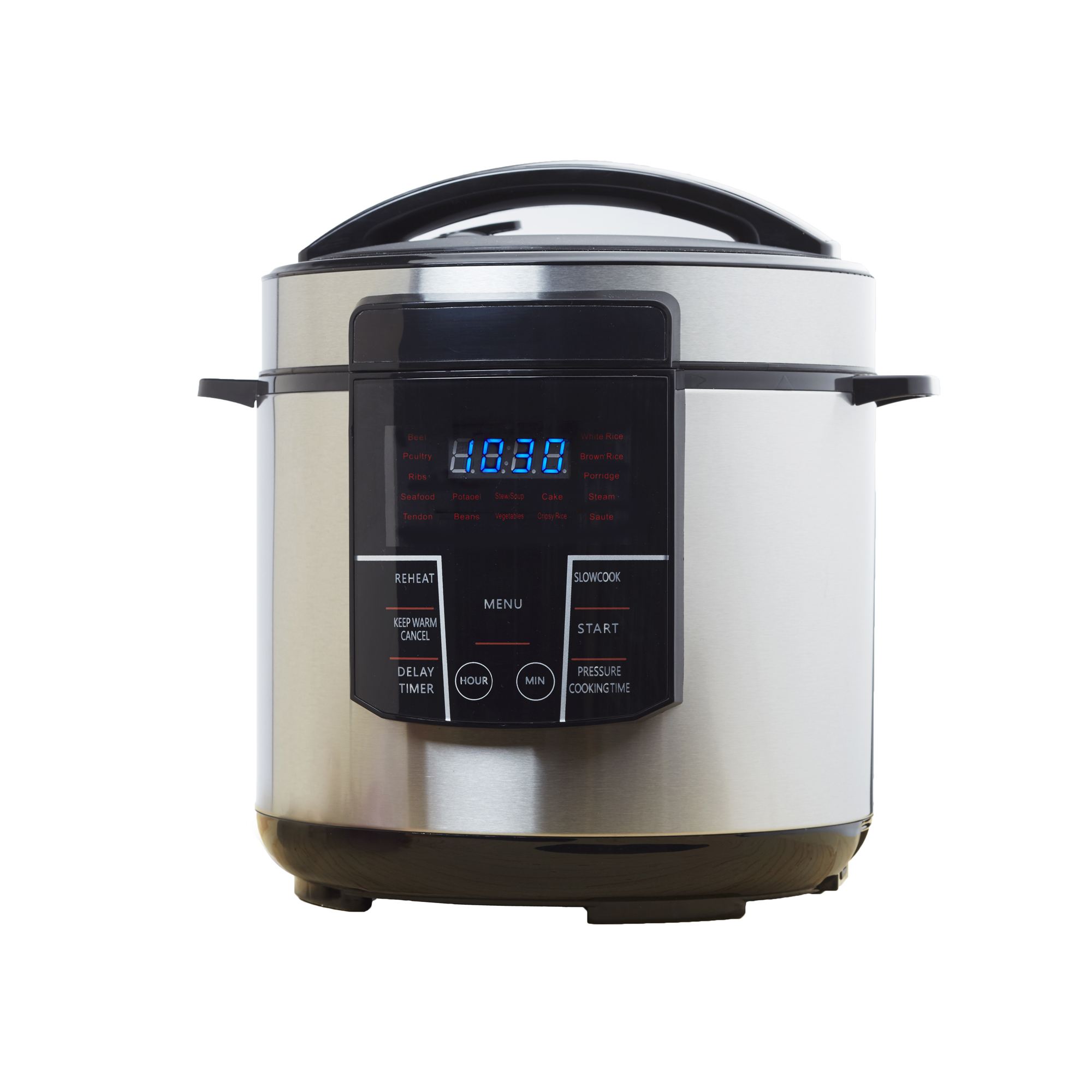 Brentwood 6 Quart Electric Pressure and Slow Cooker