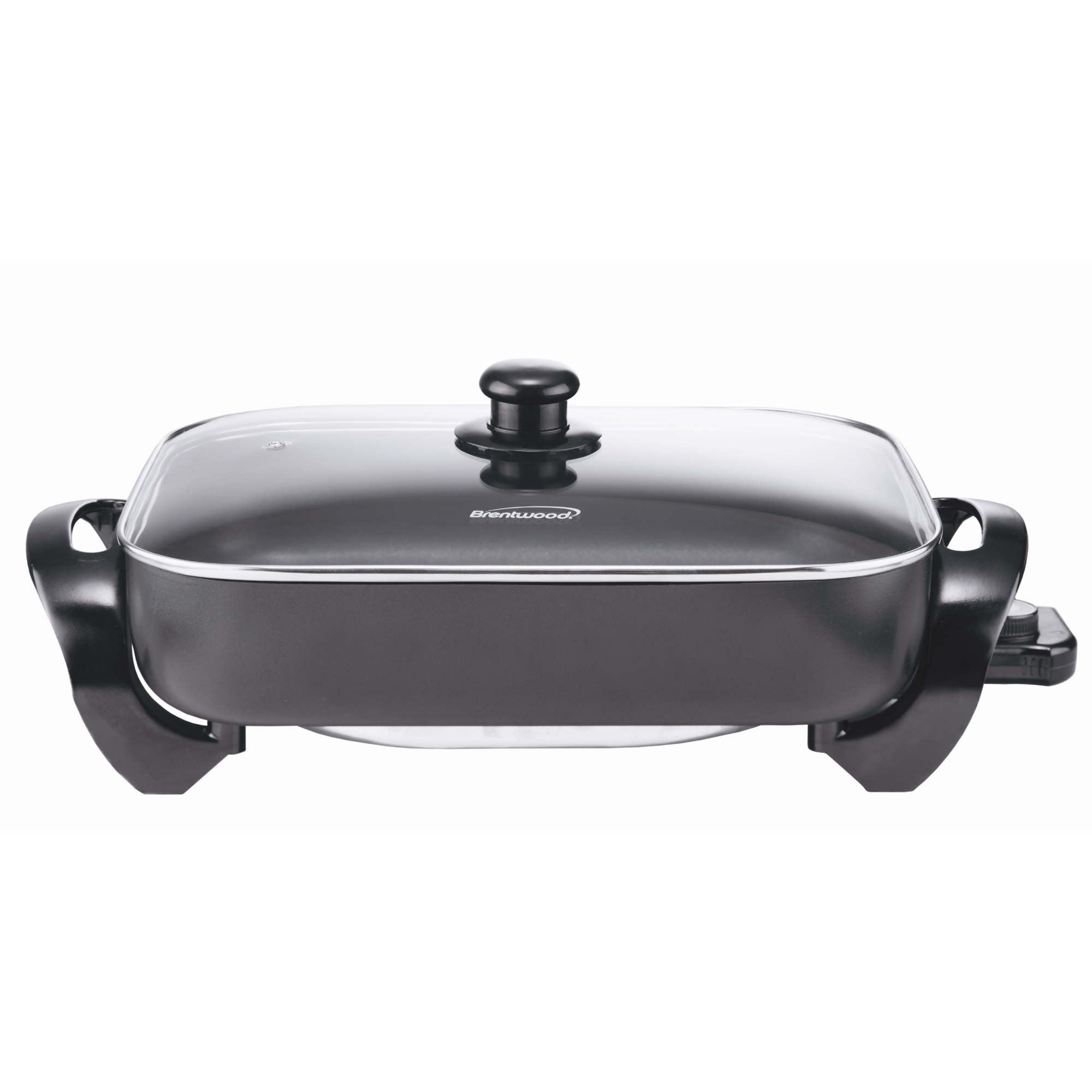 Brentwood 16-Inch 1400-Watts Electric Skillet with Glass Lid