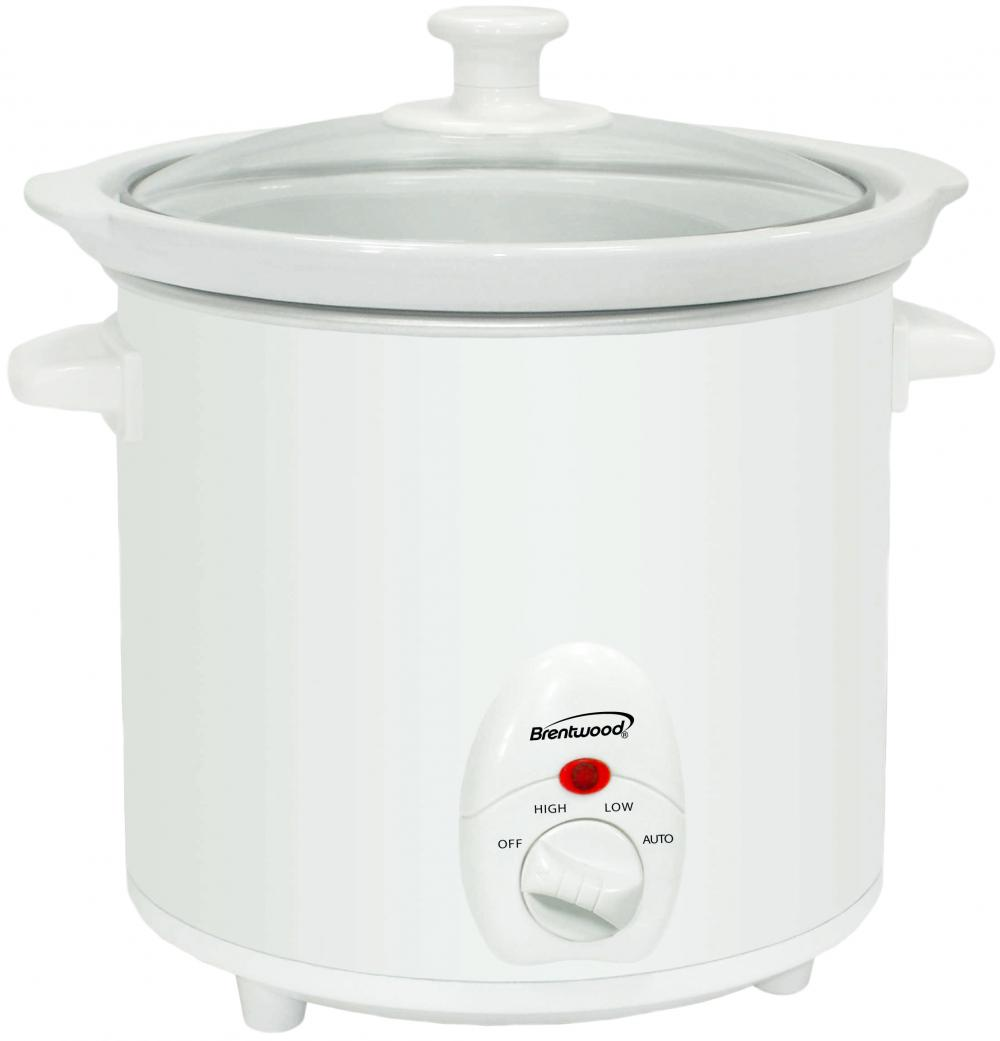 Brentwood SC-135W 3 Quart Slow Cooker