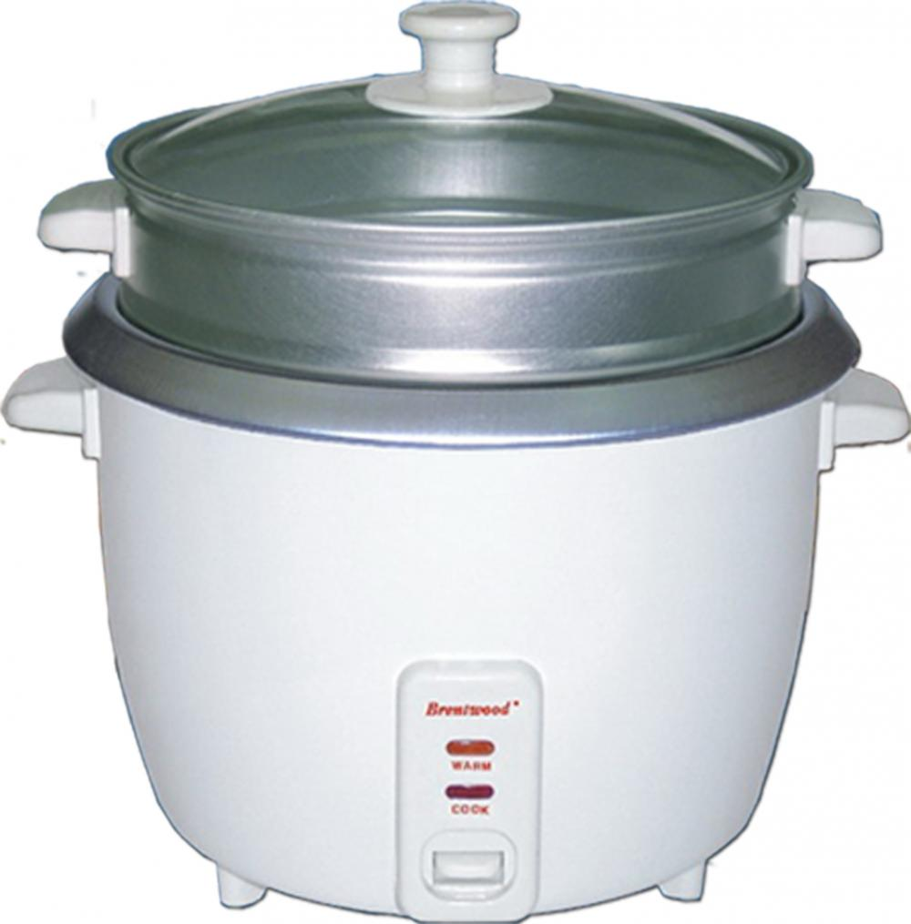 Brentwood TS-700S 0.8 Liter Rice Cooker and Steamer