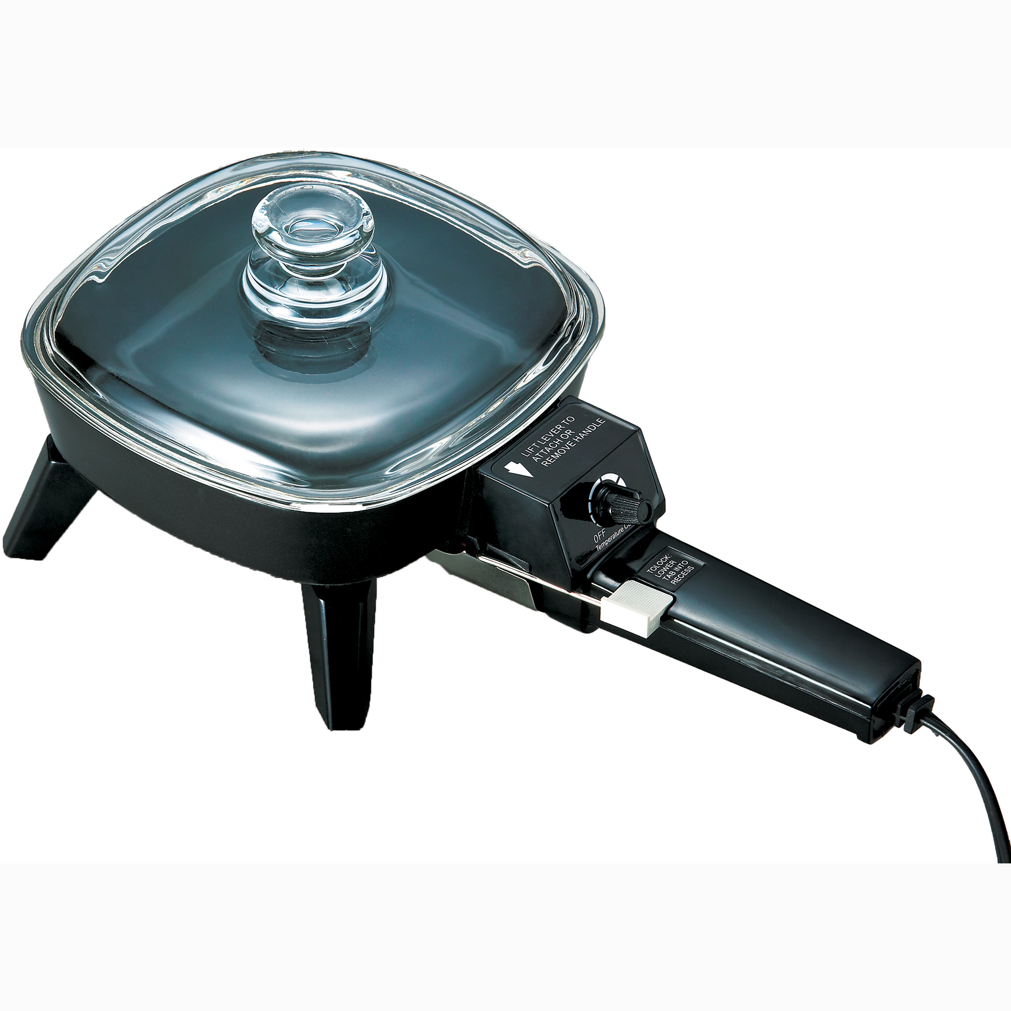 Brentwood 6 Inch Electric Skillet with Glass Lid