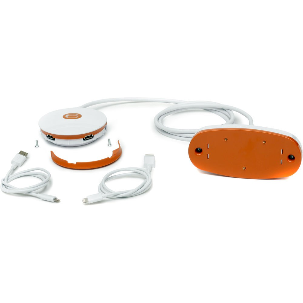 Bretford Juice Mobile Power Barrel POD With Dell Cords Jmppodbd