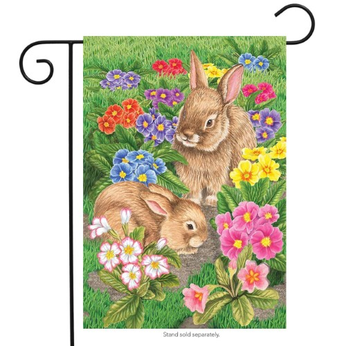 Bunny Friends Garden Flag