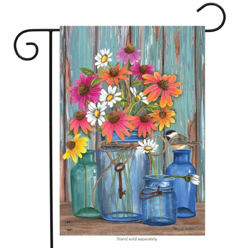 Farm Fresh Flowers Garden Flag