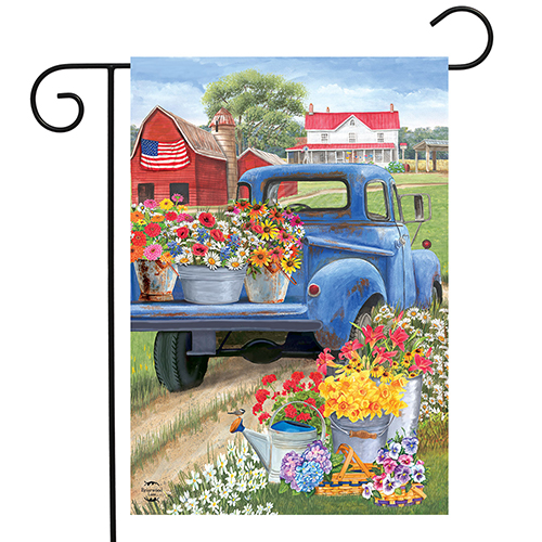 Day on the Farm Garden Flag