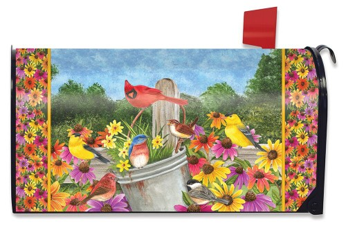 Spring Gathering Mailbox Cover