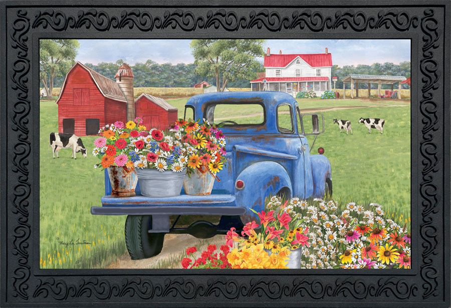 Day on the Farm Doormat