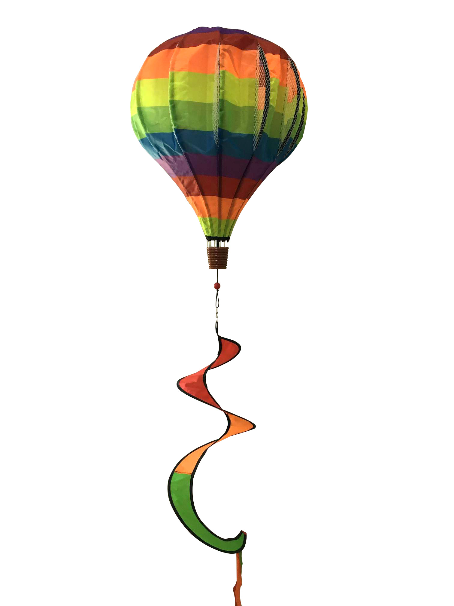 Deluxe Multicolor Hot Air Balloon Spinner