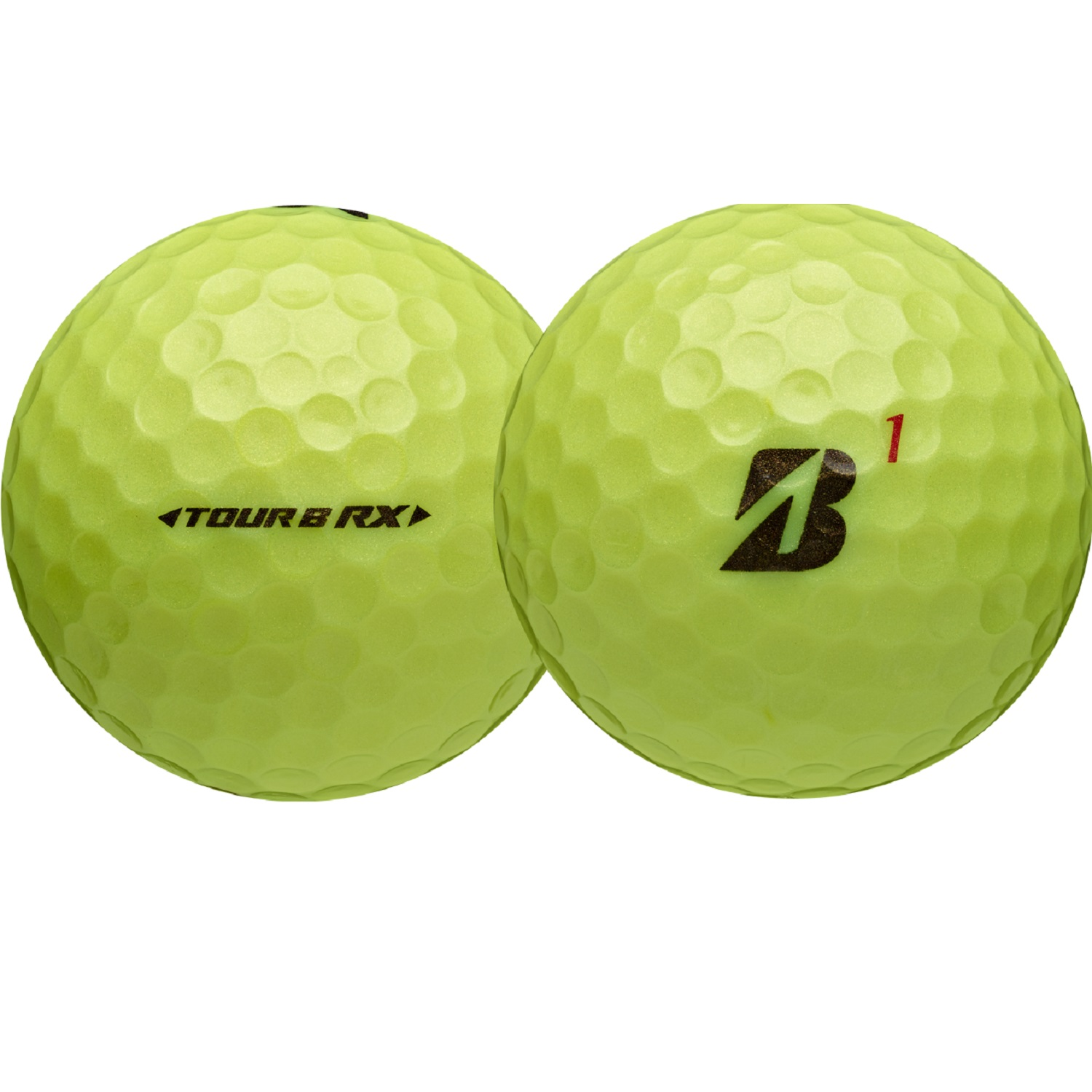 Bridgestone Tour B RX Golf Balls-Dozen Yellow