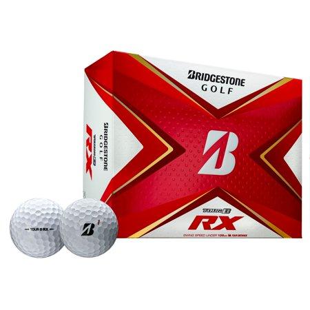 Bridgestone Tour B RX Golf Balls-Dozen White