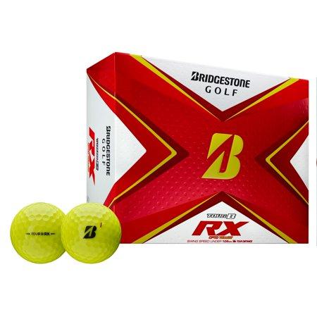 Bridgestone Tour B RX Golf Balls-Dozen Yellow
