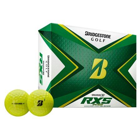 Bridgestone Tour B RXS Golf Balls-Dozen Yellow